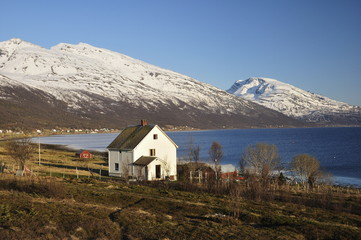 Lyngenfjord, Norway, Scandinavia, Europe