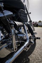 Motorcyle engine detail