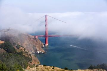 Golden Gate Bridge, San Francisco, California, United States of America, North America