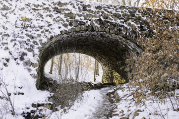 Devil's Hopyard stone bridge