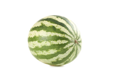 Watermelon isolated on a white