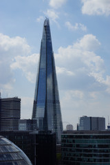 London Skyline with City Hall, Shard, River Thames, UK