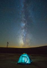 Yıldızlar altında kamp