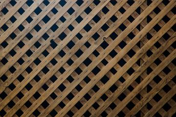 wood background lattice