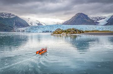 Printed kitchen splashbacks Glaciers glacier
