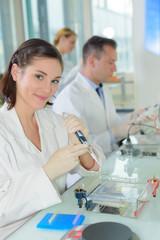 medical scientist posing