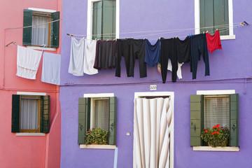 Burano Island, Venice, Veneto, Italy, Europe