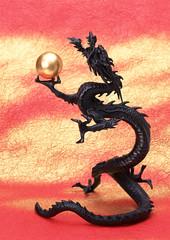 Ornament of dragon