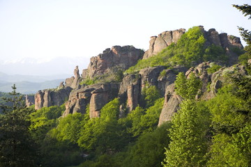 Rock formations, Belogradchik, Bulgaria, Europe