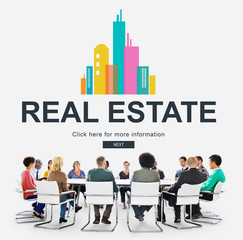 Real Estate Property working concept