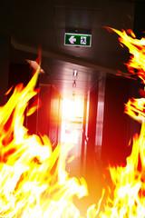Emergency exit.