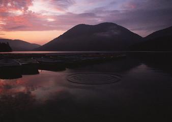 Lake and Mountain