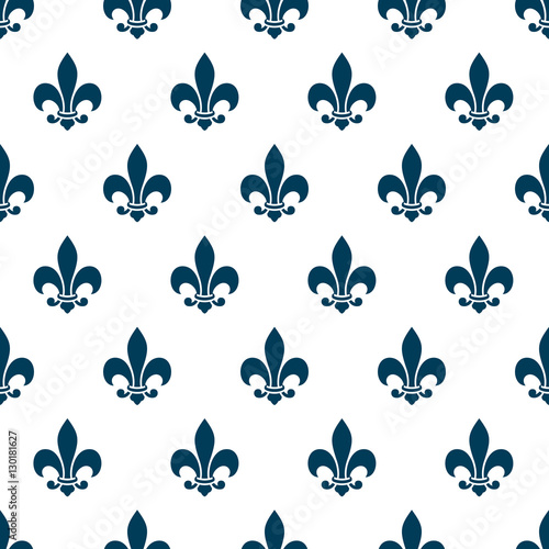 fleur de lys seamless pattern stock image and royalty free vector