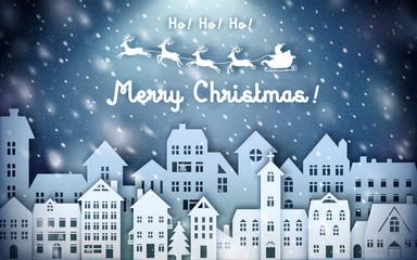 Merry Christmas template design