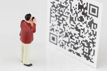 QRコードの撮影