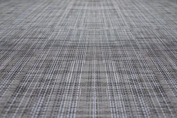Grunge linen canvas texture. White grey fabric background.