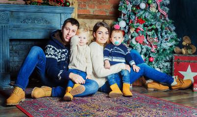 family, Christmas time