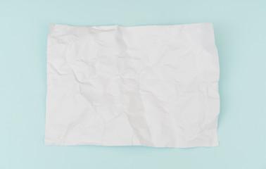 Wrinkled paper  flyer poster, brochure mockup,A4, US-Letter, on