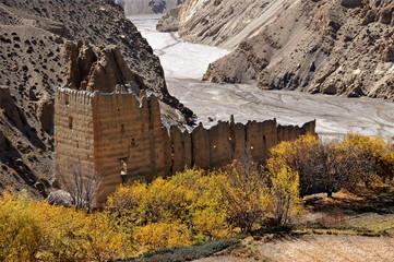 Tangbe monastery, Mustang, Nepal, Asia
