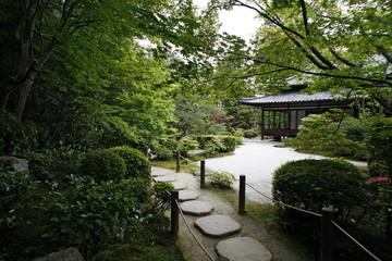 Tenjuan garden in Nanzen Ji temple, Kyoto, Japan, Asia