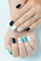 Female trendy manicure