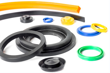 Rubber sealing many format colorful for industry.