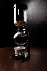 Coffee and tea device for gourmets