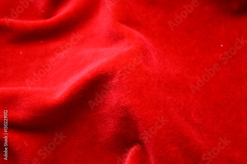 Bright Red Velvet Expensive Luxury Background Texture Fabric