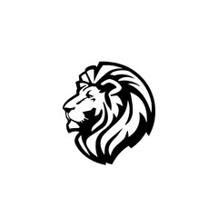 Lion logo, Vector illustration