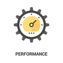 performance icon concept