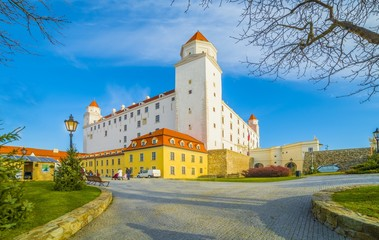 Wall Mural - Medieval castle in Bratislava, Slovakia