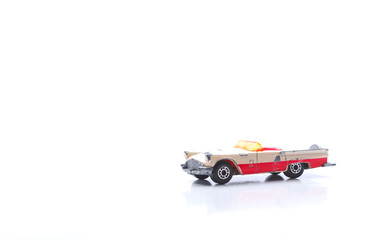 Used old toy cars