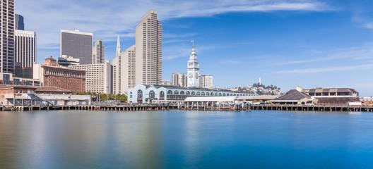 San Francisco skyline panorama, California, USA