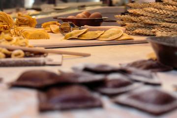 Tortellini, Tagliatelle Italian Pasta, Cutter Rolling Pin, Sheav