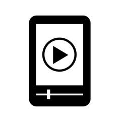MP3 player icon illustration design