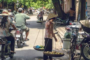 ベトナムの街角風景