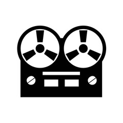 Old reel tape recorder icon.