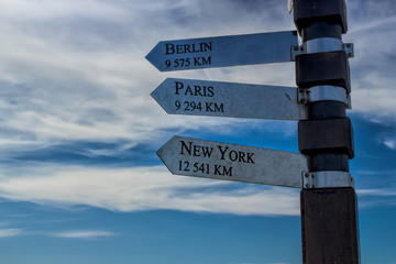 Berlin, Paris, New York
