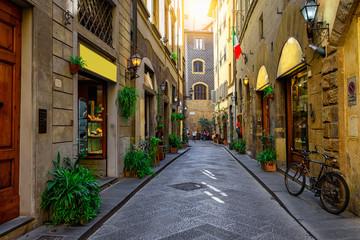 Uliczka 3D Florencja, Tuscany