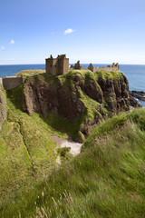 Dunnottar Castle near Stonehaven, Aberdeenshire, Scotland, United Kingdom, Europe