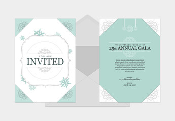Invitation with Instructions