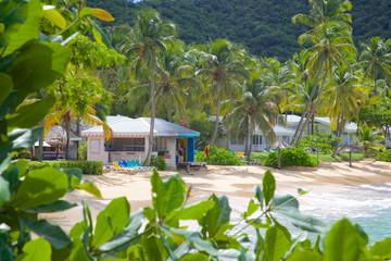 Hawksbill Bay and Beach, Caribbean