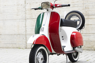 Photo Blinds Scooter Scooter italiano tricolore
