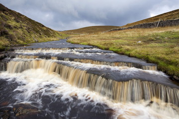 Waterfall in Hull Pot Beck, Horton in Ribblesdale, Yorkshire Dales, Yorkshire, England, United Kingdom, Europe