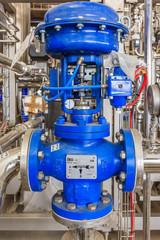 Water pump installed on machine- Industrial zone