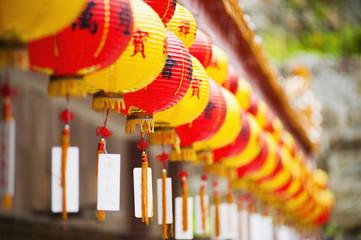 Chinese lanterns at Kek Lok Si Temple, Penang, Malaysia