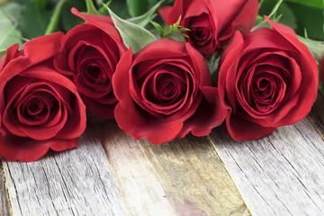 Romantic Red Roses