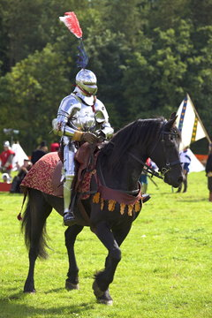 Battle of Bosworth Field Re-enactment, Market Bosworth, Leicestershire