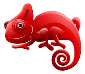 Chameleon Animal Cartoon Character