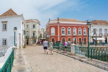 Tavira town center, Faro District, Algarve